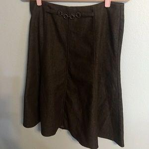 New York Clothing Co women's brown skirt (F0106)